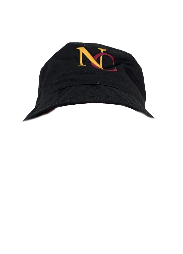 Northcote black bucket hat