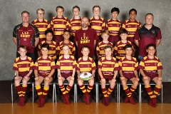 Northcote rugby 2018 J2 Gold