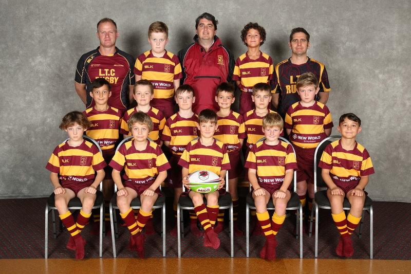 Northcote rugby 2018 J5 Maroon