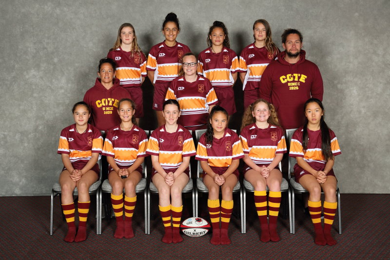 2019 Girls U13 Rip Rugby Gold