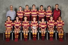 2019 Girls U13 Rip Rugby Maroon