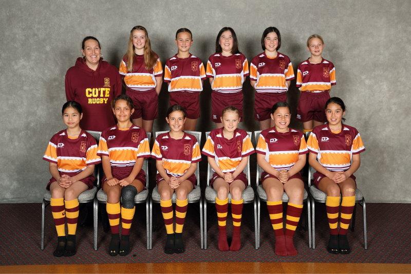 2020 Girls U11 Rip Rugby Maroon
