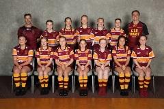 2020 Girls U15 Rip Rugby Maroon